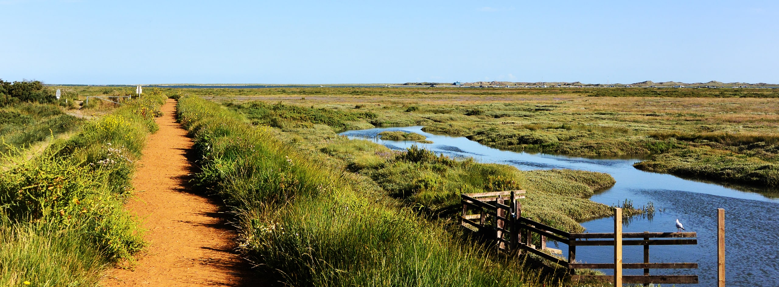 Cley Marshes in North Norfolk
