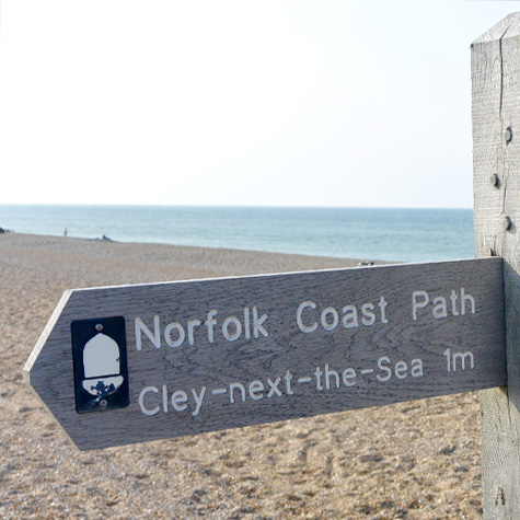 Coastal Path,  Cley next the Sea