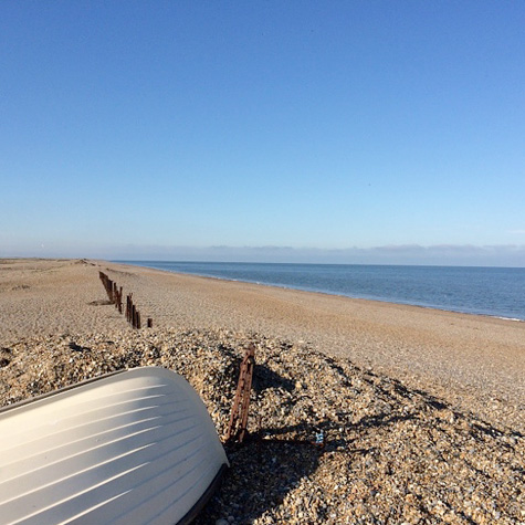 Salthouse Beach in the summer