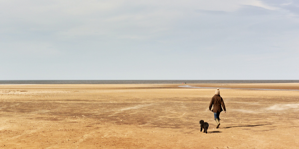Dog walks at North Norfolk